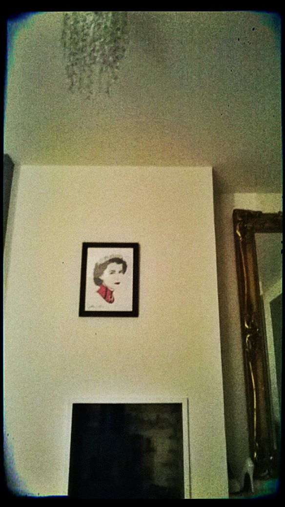 Michelle Mildenhall print, finally framed and up